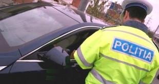 Un bărbat de 24 de ani, din comuna Văleni a fost reținut de polițiștii rutieri