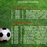 Program jocuri - Vineri - Sambata