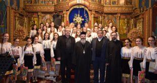 Corala Fantasia l-a colindat pe Episcopul Ignatie