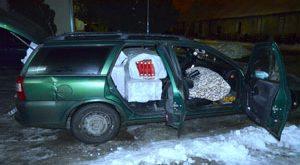 Peste 7.600 de pachete cu ţigări de contrabandă,  descoperite de polițiștii de frontieră
