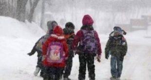 Școli închise la Vaslui, din cauza ninsorii