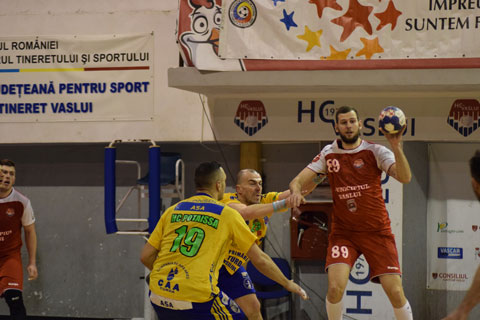 HC Vaslui-Potaissa Turda 26-35 (11-18) Meci fără miză!