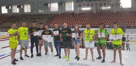 Scorpions Vaslui, pe podium la Galați