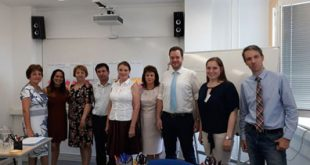 Dascăli vasluieni, la un curs de perfecționare în Cehia