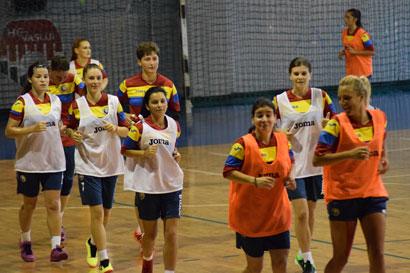 Primul joc din istoria futsalului feminin este pregătit la Vaslui