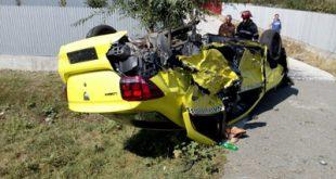 Accident cu trei victime la Bădeana
