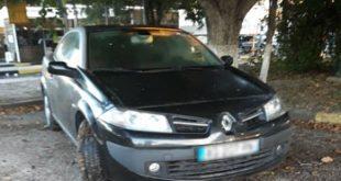 Autoturism căutat de autoritățile din Franța, depistat la Albița