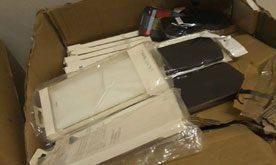 Accesorii electronice ascunse și nedeclarate, în valoare de peste 30.000 lei, confiscate la Albiţa