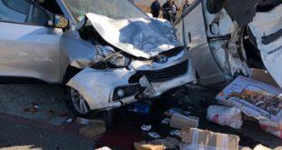 A fost activat Planul roşu de intervenţie: accident rutier cu 7  victime pe DE-581