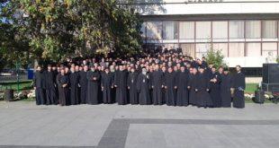 Preoții din Vaslui s-au întâlnit cu părintele profesor Patriciu Vlaicu