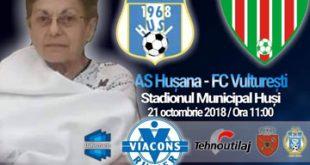 Hușana Huși este alături de profesoara Valeria Szekeres