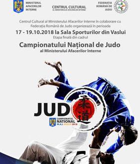 Vaslui, gazda Naționalelor de judo pe MAI
