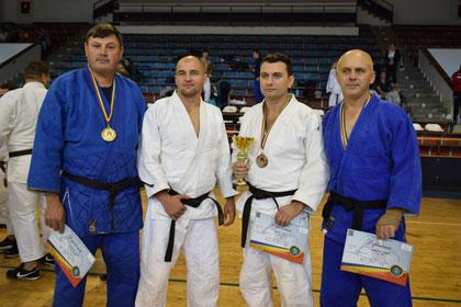 Trei vasluieni pe podiumul CN de judo al MAI