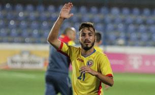 Bârlădeanul Andrei Ciobanu a revenit cu gol la naționala U21