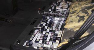 Câinele Roba a depistat țigări de contrabandă în P.T.F. Albița