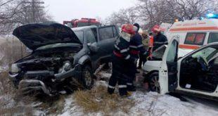 Ioan Ciupilan, primarul municipiului Huși, a fost implicat într-un accident rutier