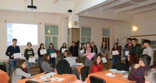 "Voluntarii de la ""Procopiu"", premiați de profesori"