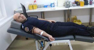 Jandarmii vasluieni au donat sânge
