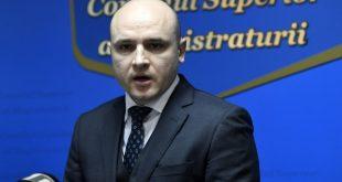 Nicușor Andrei Solomon,noul vicepreşedinte al Consiliului Superior al Magistraturii