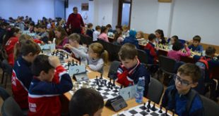"""Școala """"Mihail Sadoveanu"""" Huși și Liceul """"Mihail Kogălniceanu"""" Vaslui, campioane la șah"""