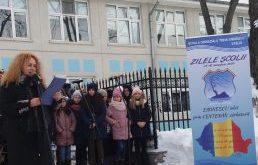 """Școala """"Mihai Eminescu"""" Vaslui și-a omagiat patronul spiritual"""