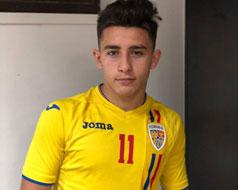 Vlăduț Dudău a fost convocat la naționala României U19