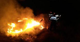 Apelul ISU către vasluieni: opriți incendiile de vegetație uscată!