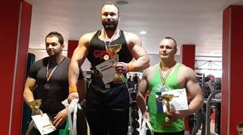 Emilian Știrbu, câștigător la Cupa Campionilor la culturism