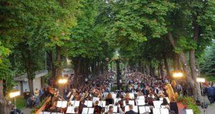 Concert de exceptie al Filarmonicii din Iasi, în Parcul Copou