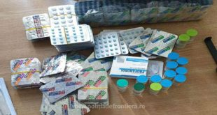 Substanţe anabolizante oprite la Albița