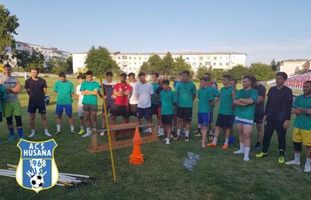 Hușana Huși a început pregătirile pentru  liga a 3-a