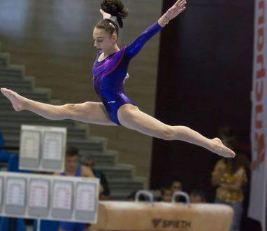 Daniela Trică a luat argintul la Naționalele de gimnastică