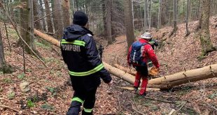 Ceața l-a derutat pe un vasluian, însă a fost găsit de pompieri după 9 ore de căutări