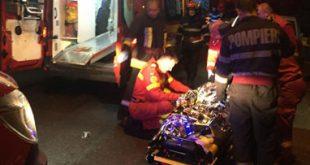 Accident la ieșirea spre Negrești! Două persoane au avut nevoie de îngrijiri medicale