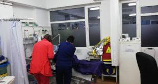 Incendiu la o garsonieră din Zona Industrială! Proprietarul se află în stare gravă la spital!