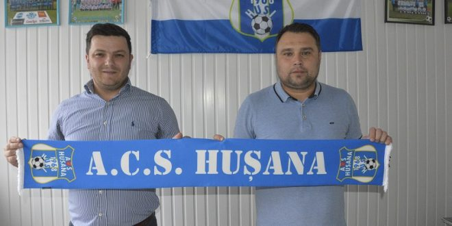 Florin Croitoru a fost instalat oficial antrenor la Hușana Huși