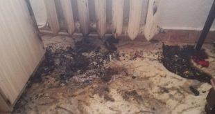 Un apartament din Vaslui a luat foc!