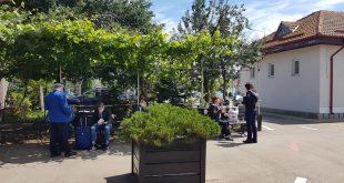Gara CFR Vaslui, împânzită de polițiști și jandarmi, care au derulat o campanie de prevenire