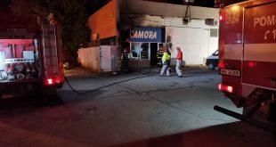 A ars un magazin alimentar din municipiul Bârlad