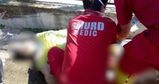 Bărbatul care a provocat accidentul din zona Traian a fost arestat preventiv