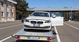 Autoturism semnalat furat din Italia, descoperit de poliţiştii de frontieră vasluieni