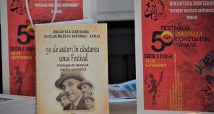 """A fost lansată cartea """"50 de autori în căutarea unui Festival"""""""