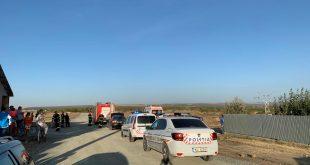 Accident în Huși! Au fost implicate două mașini, cu 9 persoane!