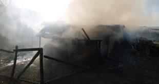 O familie din Tătărăni a rămas sub cerul liber după ce le-a ars casa