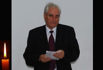 Vasile Pavăl, primarul municipiului Vaslui: Rămas bun, domnule PROFESOR  DUMITRU APOSTOLACHE !