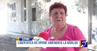 Libertatea de opinie, amendată la Bârlad!