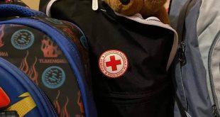Crucea Roșie Vaslui a împărțit rechizite școlare copiilor din Crețești și Oltenești