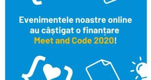 Evenimentele Drone&Girls și  Roboții Ruginiști au obținut finanțare Meet and Code 2020!