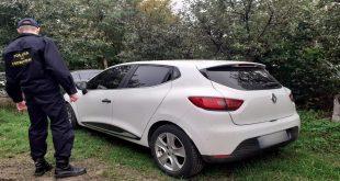 Autoturism și certificat de înmatriculare declarate furate din Franța, descoperite la Albița