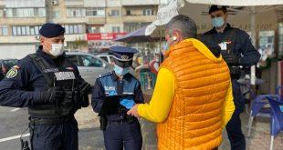 În ultimele zile, 233 de vasluieni, prinși de polițiști că nu au respectat măsurile de protecție individuală